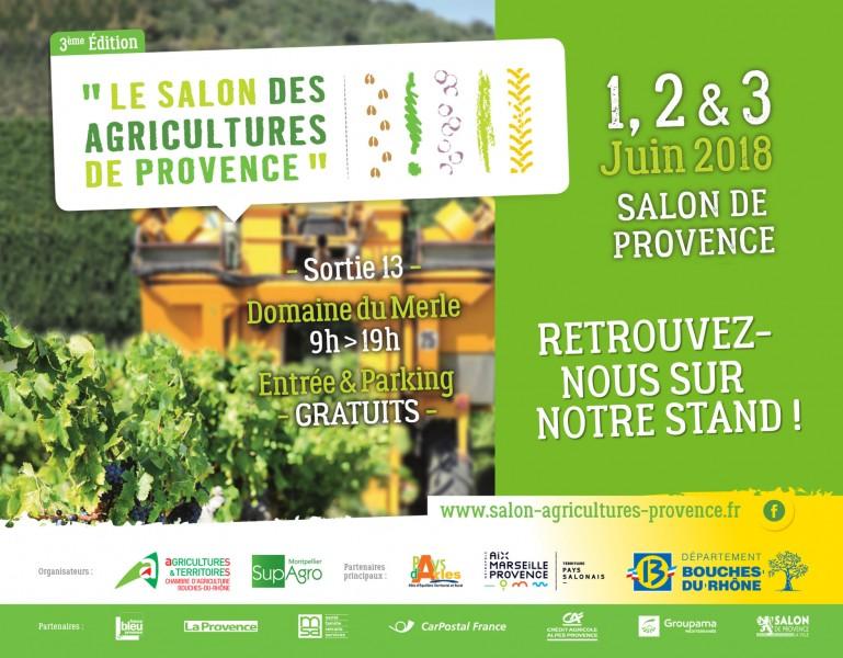 Actemis au salon des agricultures de provence du 1er au 3 juin for Salon des agricultures de provence 2017