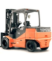 Chariot frontal electrique Toyota 7000 kg